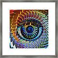 Visionary Framed Print by Gwyn Newcombe