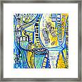 Visions Of Perceptive Elements Framed Print