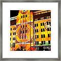 Vivid Sydney 2014 - Museum Of Contemporary Arts 2 By Kaye Menner Framed Print