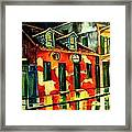 Voodoo Shop Framed Print