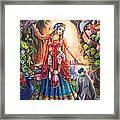 Vrinda Devi Framed Print