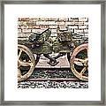 Wagon's Roll Framed Print