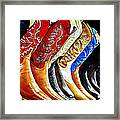 Walk In Style Framed Print by Camille Lopez