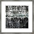 Wall Abstract 12  Framed Print