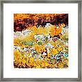 Wall Abstract 28 Framed Print