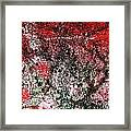 Wall Abstract 37 Framed Print