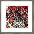 Wall Abstract 38 Framed Print