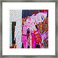 Wall To Wall Abstraction 4 Framed Print