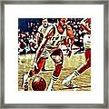 Walt Frazier Framed Print