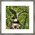 War Eagles - 29th Pennsylvania Infantry Slocum Avenue South Culp's Hill Spring Gettysburg Framed Print by Michael Mazaika