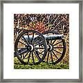 War Thunder - The Morris Artillery Page's Battery Oak Hill Gettysburg Framed Print