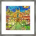 Warehouse Road Framed Print