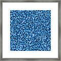 Water Labyrinth Framed Print