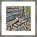 Water Pump In Nature Framed Print