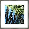 Water Reflections 1 Framed Print
