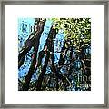 Water Reflections 3 Framed Print