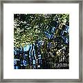 Water Reflections 7 Framed Print