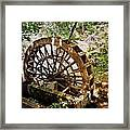 Water Wheel Framed Print by Marty Koch