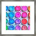 Watercolor Framed Print by Heidi Smith