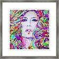 Watercolor Woman.32 Framed Print