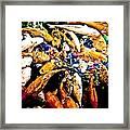 Watercolored Koi Framed Print