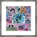 Watercolour Birds Framed Print