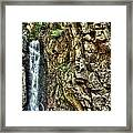 Waterfall At Castle In The Clouds Framed Print