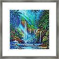 waterfall lV Framed Print