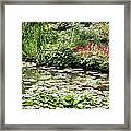 Waterlily Pond Giverney Framed Print