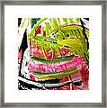'watermelon' Framed Print