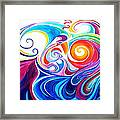 Wave Set Framed Print
