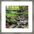 Way Of St. James Bridge Framed Print by Jeffrey Teeselink