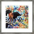 We Remember The Name Of Hashem Framed Print