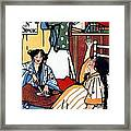 Wee Sma Hours 1909 Framed Print