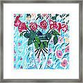 Weekend Roses Framed Print