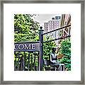 Welcome Friends Framed Print