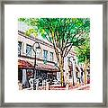 Welcome To Naperville Illinois Framed Print