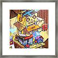 Welcome To The Gallery Framed Print