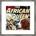 Welsh Springer Spaniel Art Canvas Print - The African Queen Movie Poster Framed Print
