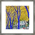 West Lake Park Framed Print by Donald Torgerson