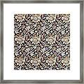 Wey Design Framed Print by William Morris