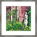 What's A Nice Goddess Like You Doing In A Place Like This?  Framed Print by Lorenzo Laiken