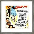 Whats Cookin, Us Poster, Top From Left Framed Print