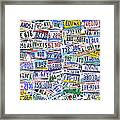 What's Your License? Framed Print by Bedros Awak