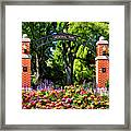 Wheaton Memorial Park Framed Print