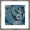Wheel In The Sky 1 Framed Print by Angelina Vick