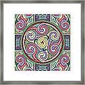 Wheel Of Celtia Framed Print