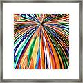 Where It All Began Abstract Framed Print