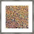 Where's Waldo Framed Print by David Bearden