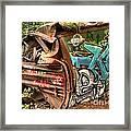 Whistler Train Wreck Stopping Point Framed Print